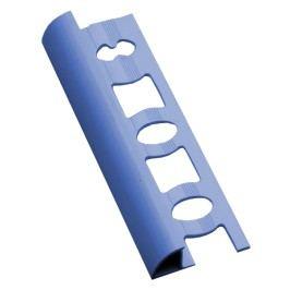 Lišta ukončovací oblá PVC světle modrá, 8 mm, 250 cm L825013