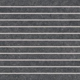 Mozaika Rako Rock černá 30x30 cm, mat, rektifikovaná DDP34635.1