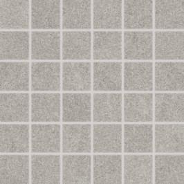 Mozaika Rako Rock světle šedá 30x30 cm, mat, rektifikovaná DDM06634.1