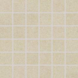 Mozaika Rako Rock slonová kost 30x30 cm, mat, rektifikovaná DDM06633.1