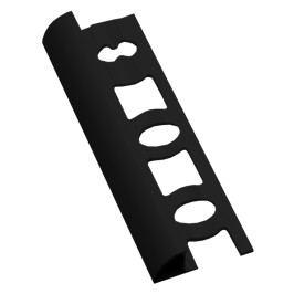 Lišta ukončovací oblá PVC černá, 8 mm, 250 cm L8250C