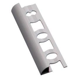 Lišta ukončovací oblá PVC bílá, 9 mm, 250 cm L9250