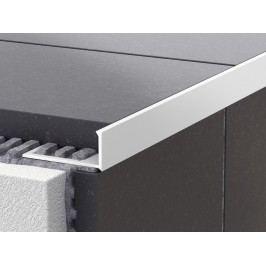 Lišta ukončovací L PVC bílá, 8 mm, 250 cm LL8250