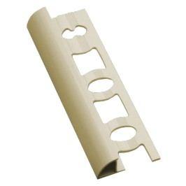 Lišta ukončovací oblá PVC slonová kost, 8 mm, 250 cm L825003