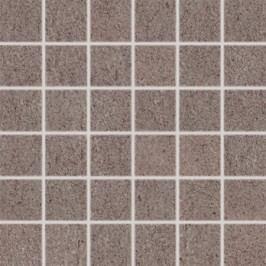 Mozaika Rako Unistone šedohnědá 30x30 cm, mat, rektifikovaná DDM06612.1
