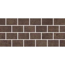 Mozaika Rako Golem hnědá 20x45 cm, mat, rektifikovaná DDPPP651.1