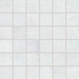 Mozaika Rako Cemento světle šedá 30x30 cm, mat, rektifikovaná DDM06660.1