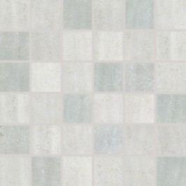 Mozaika Rako Manufactura světle šedá 30x30 cm, mat WDM05013.1