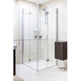 ANIMA SK sprchový kout skládací čtverec 90 cm, čiré sklo/chrom profil - SIKOSK9090