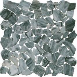 Kamenná mozaika 30 x 30 cm Premium Mosaic Stone šedá-kameny STMOSGYW