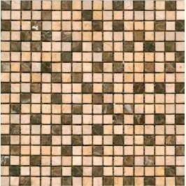 Kamenná mozaika 1,5x1,5 cm Premium Mosaic Stone 30,5x30,5 cm béžová STMOS15BEW