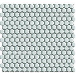 Premium Mosaic keramická mozaika kolečka bílá 29,4x31,5 cm MOS19WH
