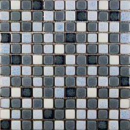 Premium Mosaic mozaika keramická mix šedá 30,5x30,5 cm MOSS23MIX2