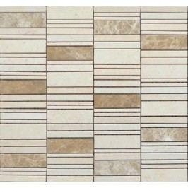 Premium Mosaic Stone Mozaika kamenná mix béžová 2,5x7 cm STMOS2570BE
