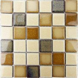 Premium Mosaic mozaika keramická mix béžová 30,5x30,5 cm MOS48MIX2