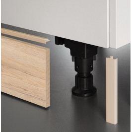 NATUREL Easy sokl 20cm, L51cm, dub, 2ks - 192.SBR15