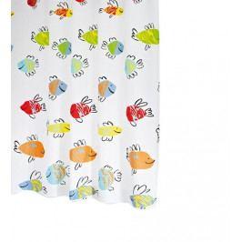 Sapho MALAWI sprchový závěs 180x200cm, barevné ryby 47910