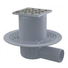 AlcaPlast Podlahová vpust 105×105/50 boč