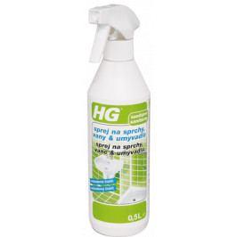 HG Sprej na sprchy, vany a umyvadla 0,5 l HGSVU