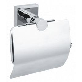 Držák toaletního papíru nástěnný, hranatý HUK25
