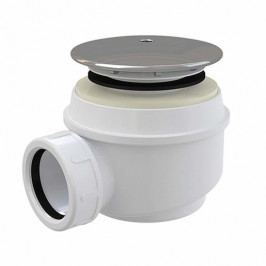 Roltechnik Vaničkový sifon chrom plast bílá Ø50/60 mm 8100002