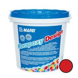 Spárovací hmota Mapei Kerapoxy Design 3 kg červená (RG) MAPXDESIGN3750