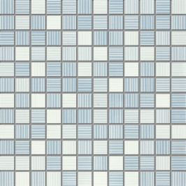 Mozaika Fineza Vibrazioni blue 30x30 cm, lesk WDM02026.1