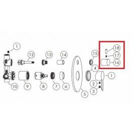 OPTIMA - kryt na přepínač SO015 NDSO01514