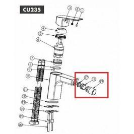 OPTIMA - bidetový kloub set CU235 NDCU23519