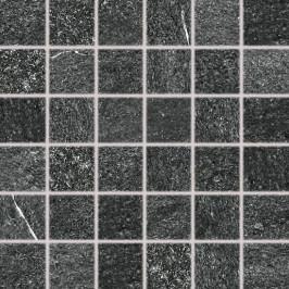 mozaika RAKO QUARZIT černá mozaika 5x5 DDM06739.1