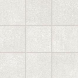 dlažba RAKO REBEL bílošedá 10x10 rekt. DAK12740.1