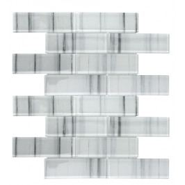 Mozaika sklo stripes 4,8x14,8 (30x30)
