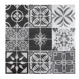 Patchwork black white 10x10, set 30x30
