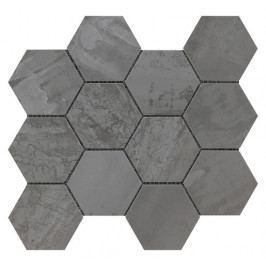 Met arch steel esagono 30x34 cm