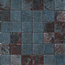 Metallo nero mosaico 30x30 cm