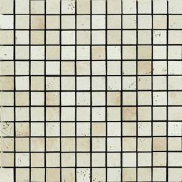 Miami mos.2,2x2,2 white rope 30x30 cm