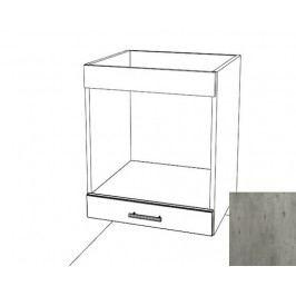 Spodní skříňka pro troubu 60х82 beton, BO6072BE