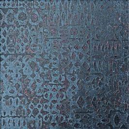 Cir Metallo nero lamiera mix S/8 25x25 cm, rektifikovaná