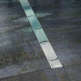 Odtokový žlab ke stěně RAVAK OZW RAVAK Chrome 750 - nerez X01624