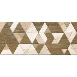 Dekor Fineza Adore beige triangles 25x60 cm, mat DADORE256TR