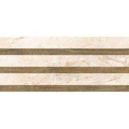 Dekor Fineza Adore ivory strips 25x60 cm, mat DADORE256ST
