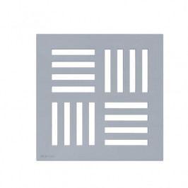 Mřížka 143×143 mm šedá