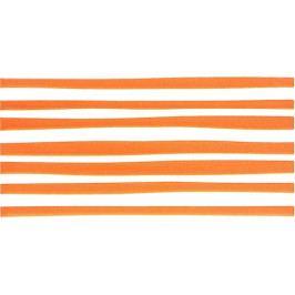 Dekor Fineza Happy oranžová 20x40 cm, lesk